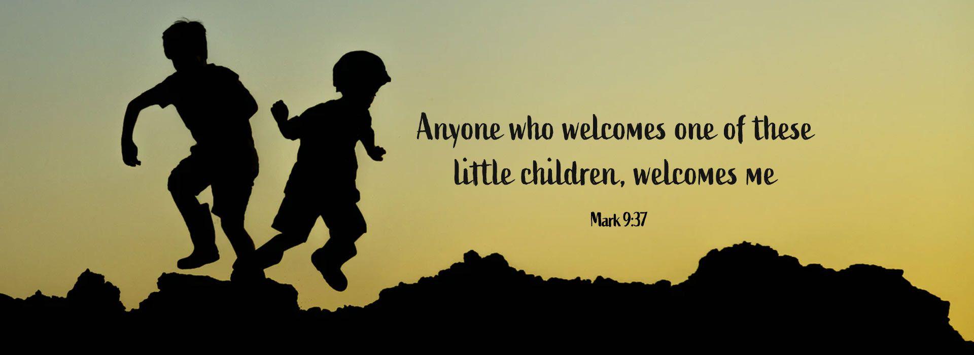 Mark 9:37